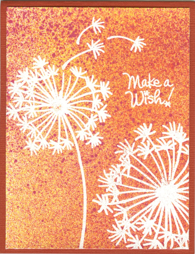 SSC1109 Dandelion Wish Perfectly Clear Stamps