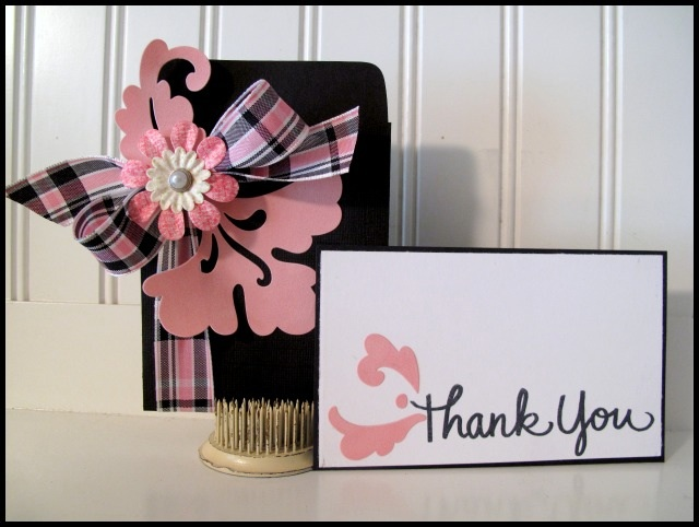 Creative Thank You Card And Cardgift Card Holder