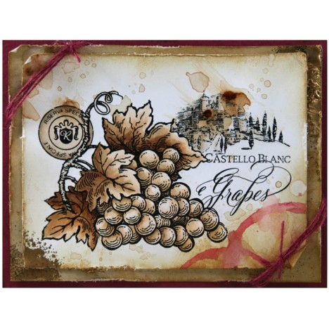 New Wine Themed Stamps