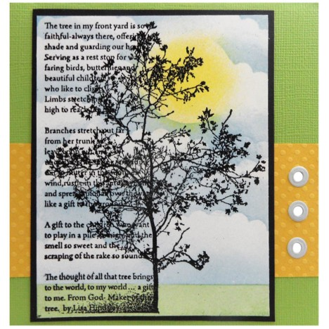 New Silhouette Images (card by Kristine Reynolds)