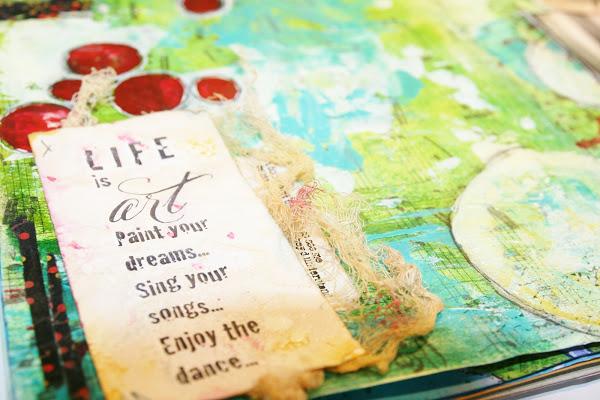 Melinda Gleissner takes on Art Journaling!