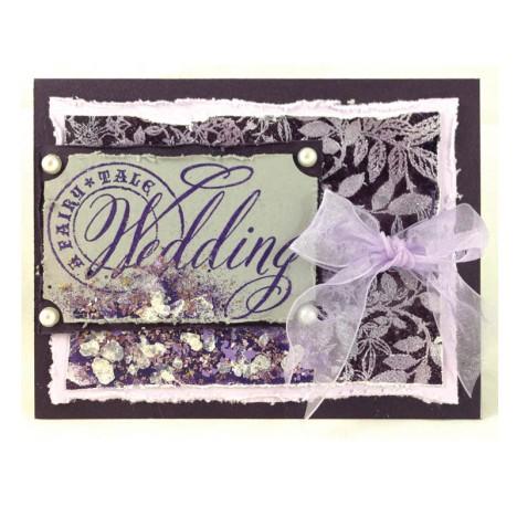 Fairy Tale Wedding Card by Jennifer Dove