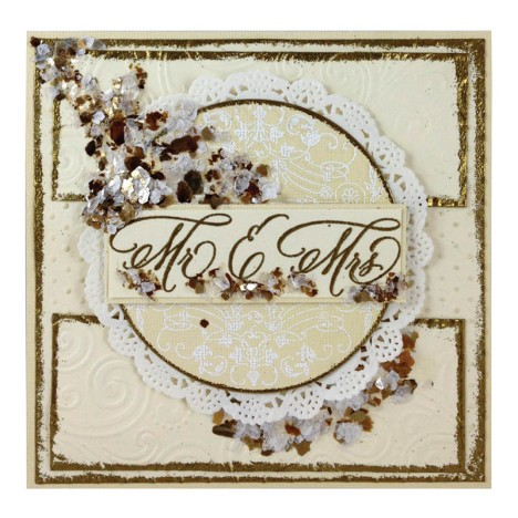 Married Monograms Invite by Jennifer Dove