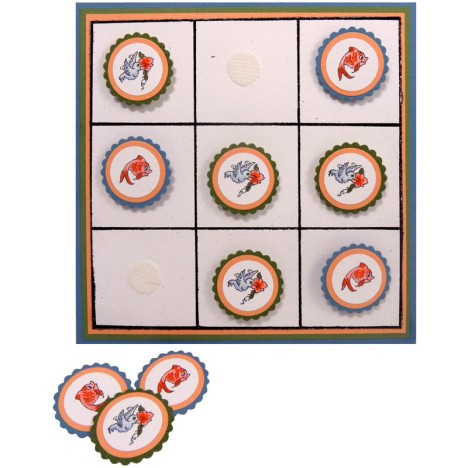 Critter Collection Tic Tac Toe by Kristine Reynolds