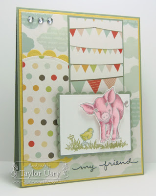 Taylor Usry plays with our Farm Life Perfectly Clear Stamps!