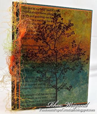 Stampendous Tree Poem Rubber Stamp