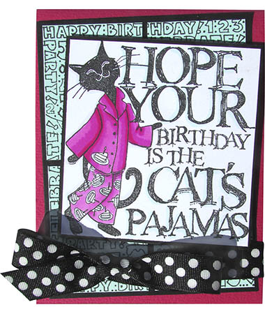 Pajama Cat by Cyndi Bundy