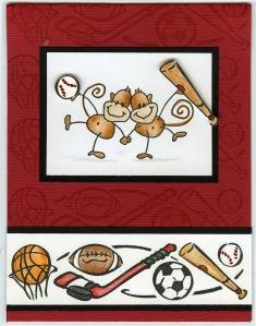Changito Sports Card by Debi Hammons