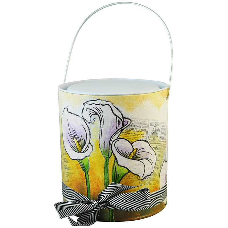 Jumbo Calla Lily Pail by Janelle Stollfuss