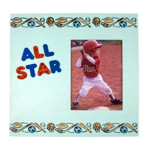Sports Border Frame by Debi Hammons