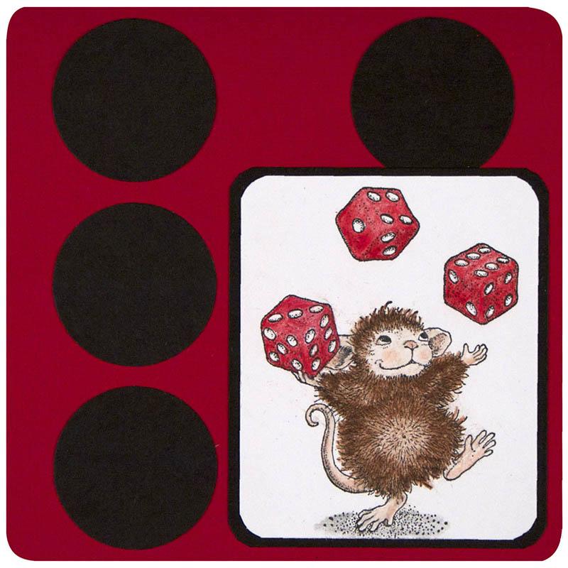 Juggling Dice by Debi Hammons