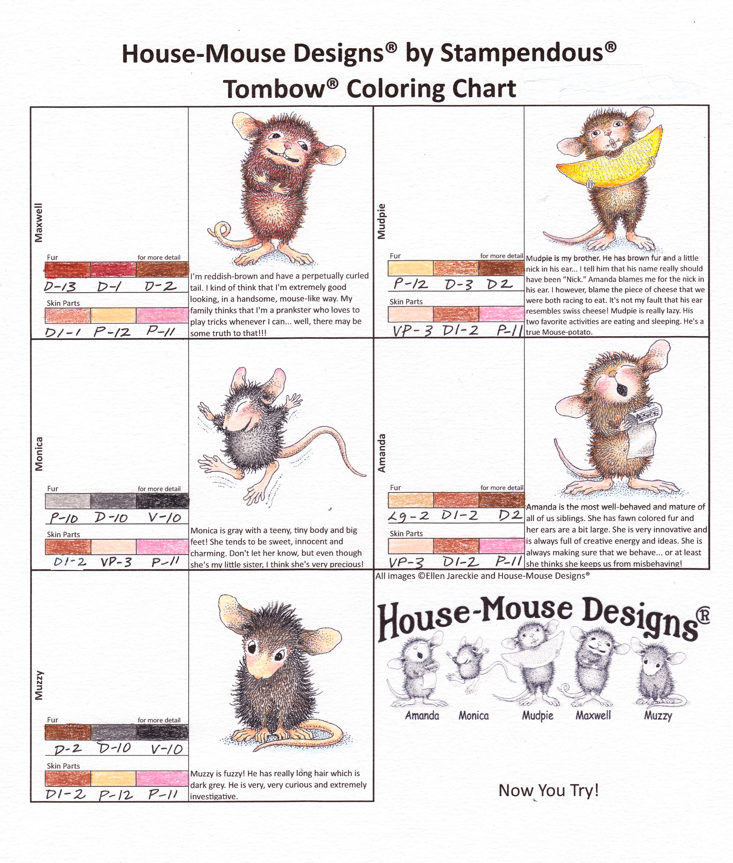 Coloring House-Mouse Designs®