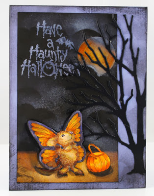 Haunty Monica by Pam Hornschu House-Mouse Designs® are ©Ellen Jareckie