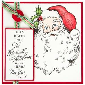 Jolly Santa by Debi Hammons