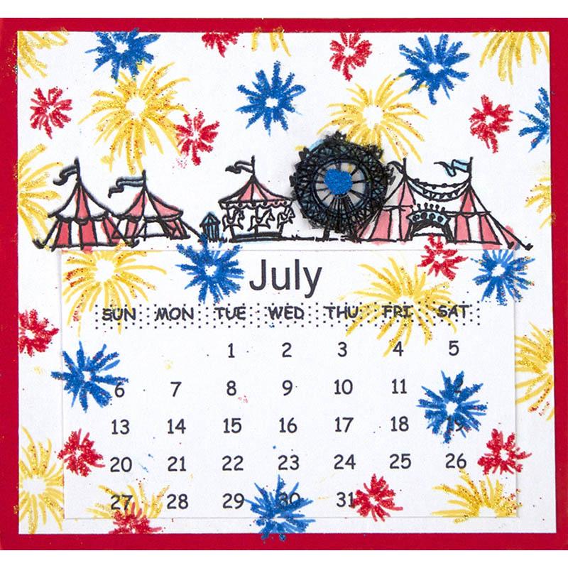 July by Suzanne Czosek