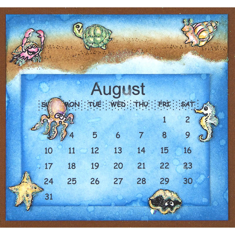 August by Suzanne Czosek