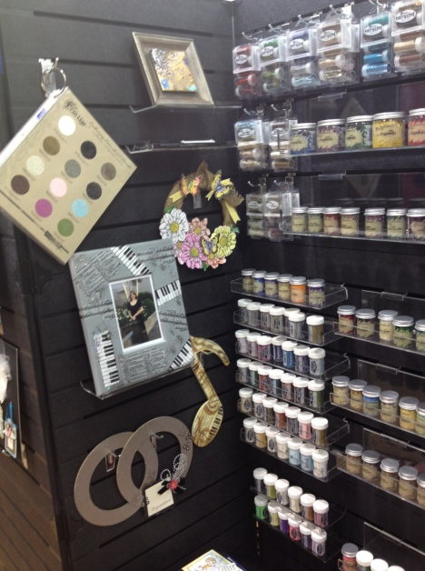 This area showcases our various powders. Embossing Enamels, Glitters, Color Fragments, Mica, etc.