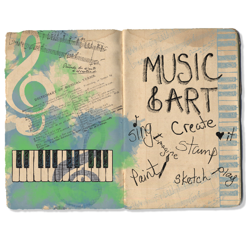 Musical Motif Journal by Terry Braddock