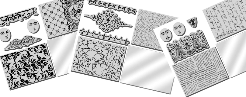 Fran's Stack Art Stamp Kits