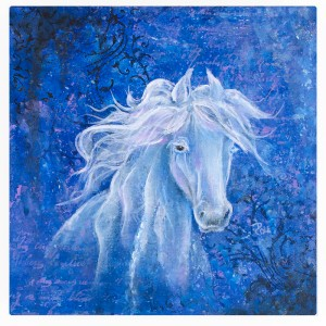 Filly canvas by Debbie Cole