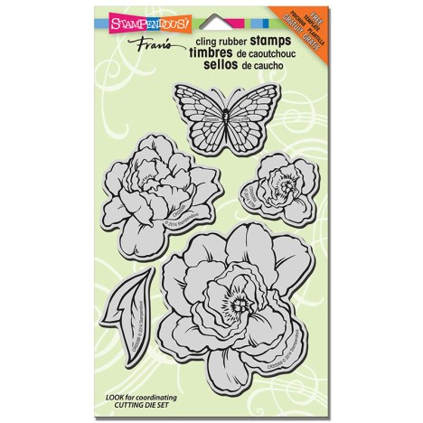 CRS5066 Lovely Garden Cling Rubber Set -