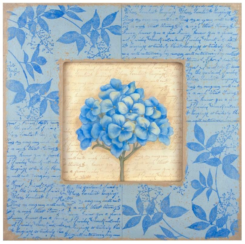 Hydrangea Garden Plaque by Debbie Cole