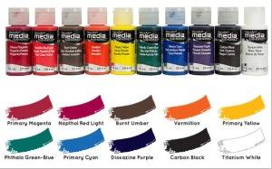 Media Fluid Acrylics by DecoArt