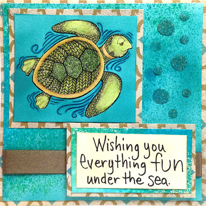 PenPattern Turtle Card