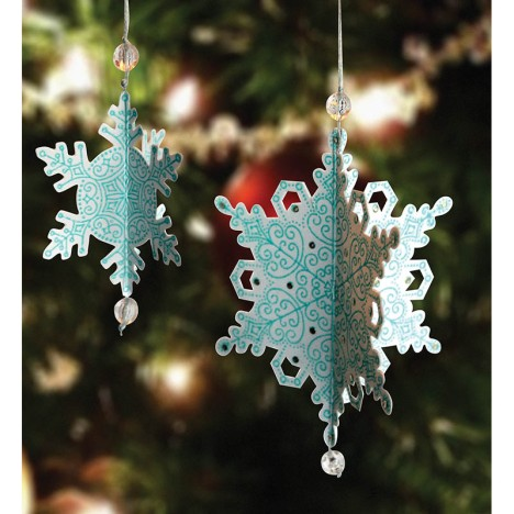 Delicate Die Cut Ornaments by Wendy Price