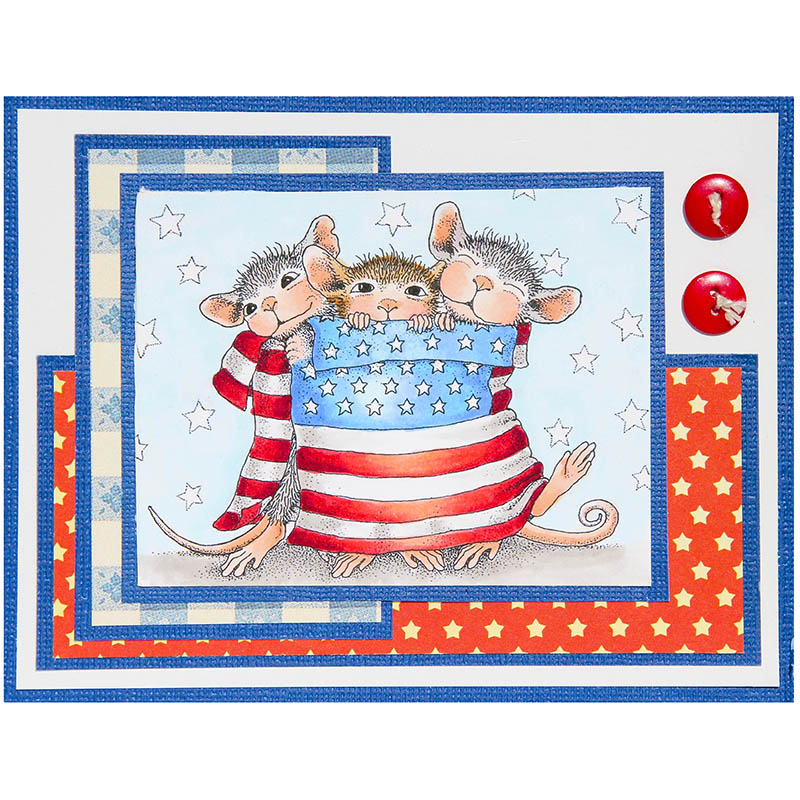 Star Spangled Mice by Jennie Lin Black