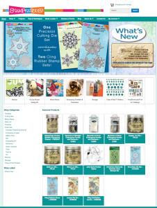 Stampendous Website Home Page