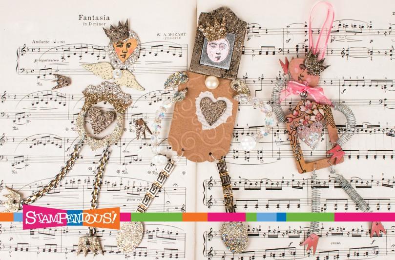 Stack Art Dolls by Fran Seiford