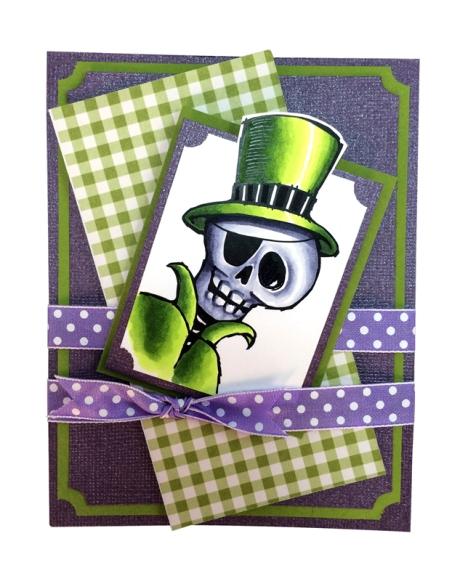Mr. Skulleton by Jennifer Dove