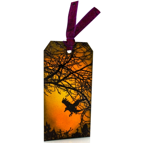 Crowscape Bookmark by Wendy Price