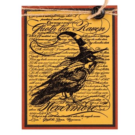 Raven Background by Debi Hammons