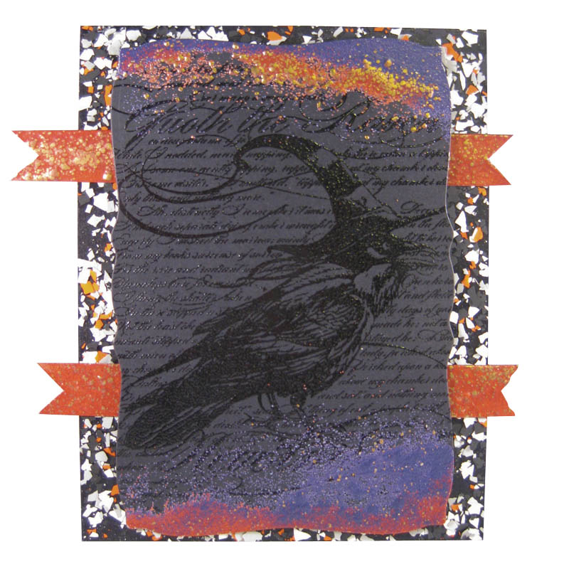Raven Background by Wendy Jordan