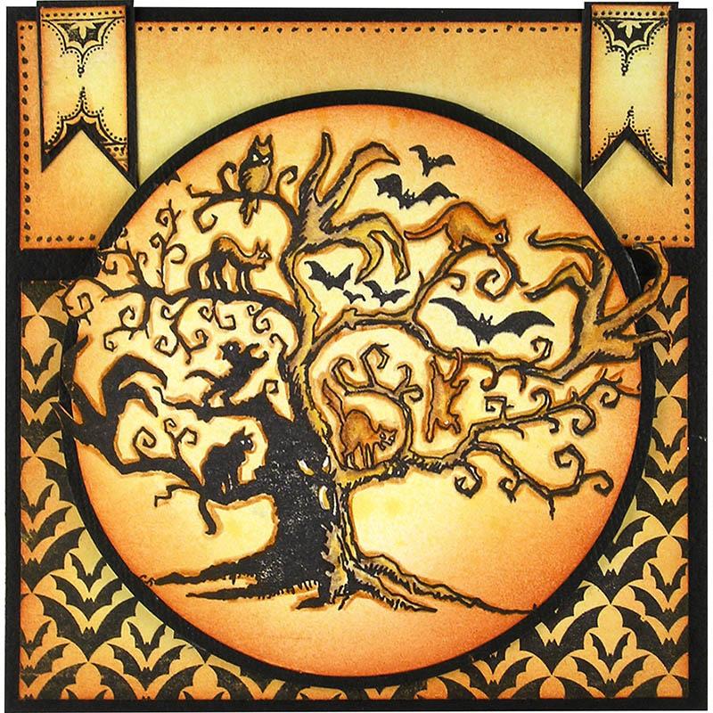 Twisted Tree Card by Suzanne Czosek