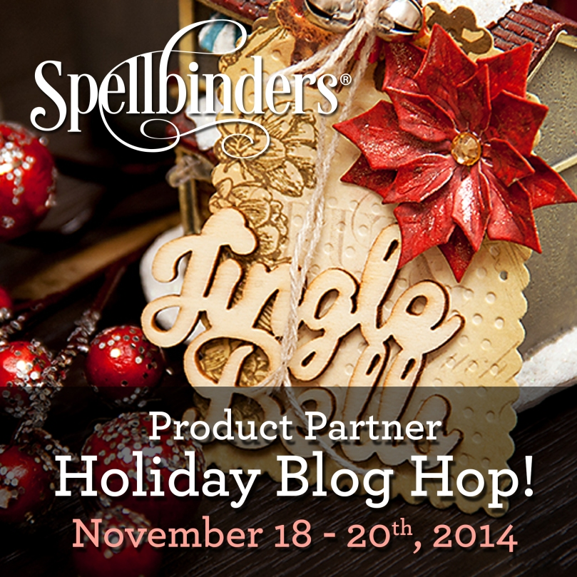 Spellbinders Holiday Hop