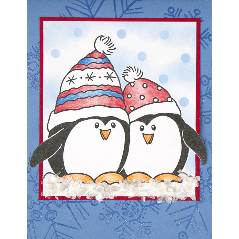 Simple Penguin Snow by Debi Hammons