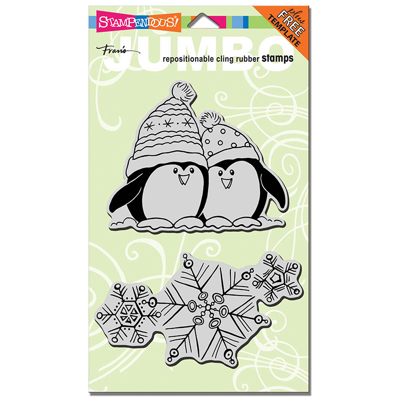 Penguin Snow Stamp Set