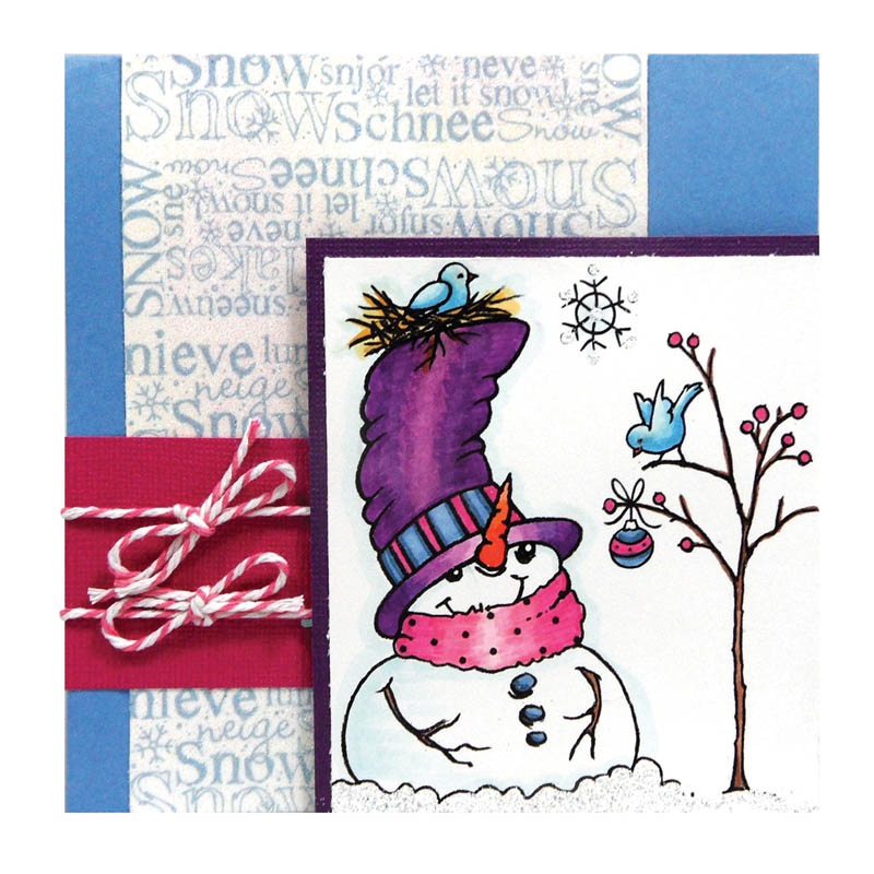 Top Hat Snowman by Kristine Reynolds