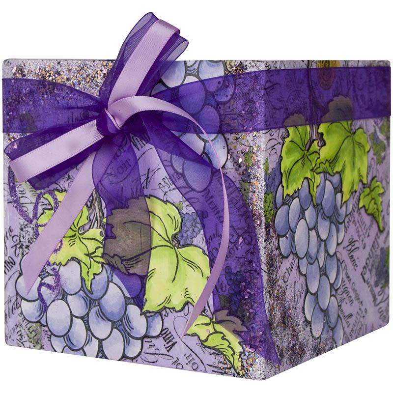 Jumbo Grape Box by Kristine Reynolds.