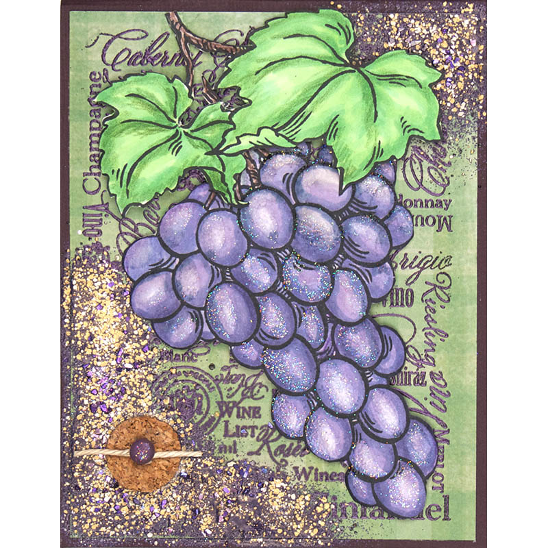 Jumbo Grapes by Terry Braddock