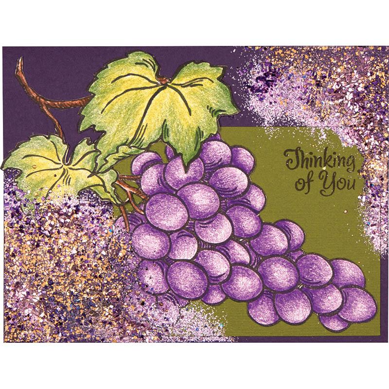 Encrusted Jewel Jumbo Grapes by Debi Hammons