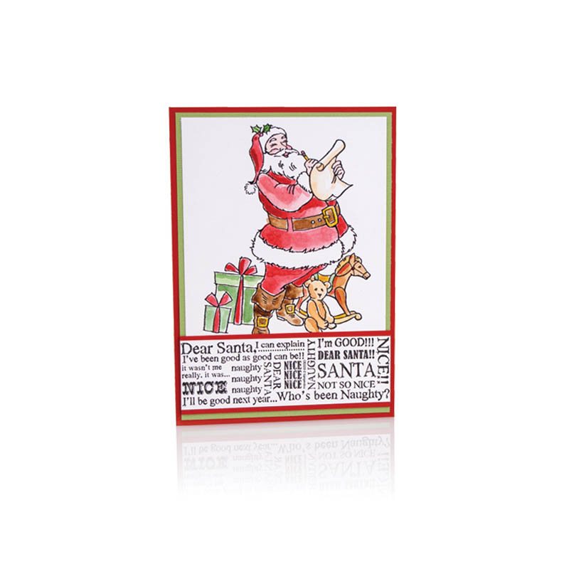 Dear Santa Card by Debi Hammons