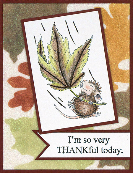 Happy Thanksgiving from all of us at Stampendous!