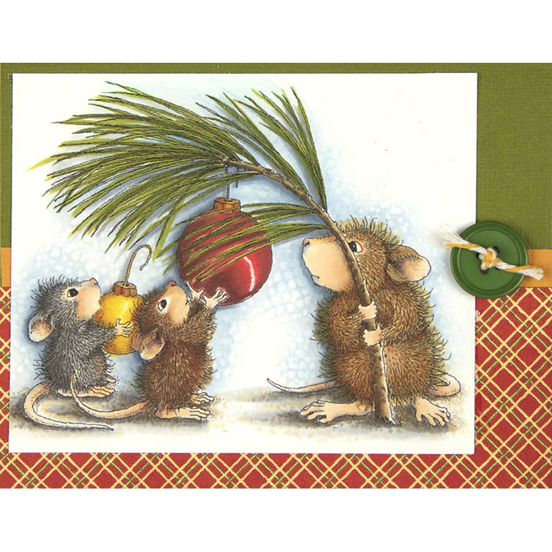 Deck the Halls card by Debi Hammons