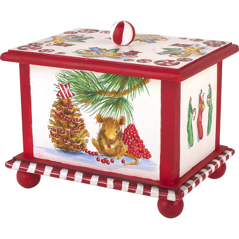 Getting Ready for Christmas Box by Debbie Cole, CDA