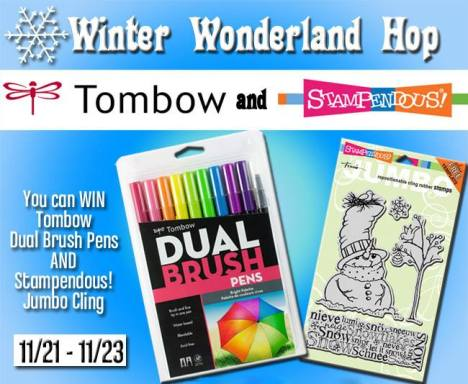 Stampendous and Tombow Prize Package