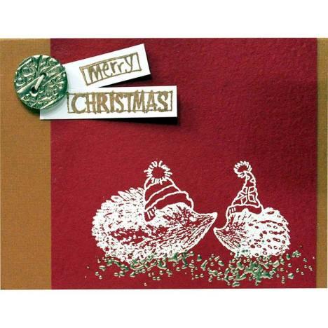 Hedgehog Pair Card Wendy Price